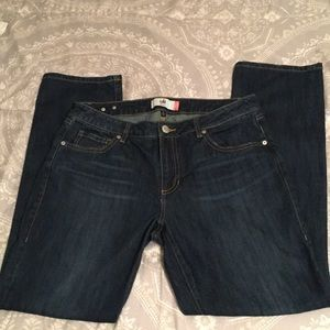 CAbi Jeans #5166 The Straight Size 12